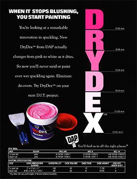 Publicité DRYDEX1998
